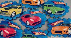 Hot Wheels cookies