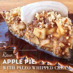 Raw paleo apple pie