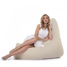 Pufa fotel, elegancka i wygodna.
