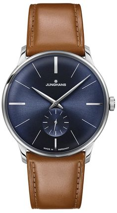 @junghansgermany Watch Meister Handaufzug #bezel-fixed #bracelet-strap-leather #brand-junghans #case-depth-7-3mm #case-material-steel #case-width-37-7mm #delivery-timescale-call-us #dial-colour-blue #gender-mens #luxury #movement-manual #official-stockist-for-junghans-watches #packaging-junghans-watch-packaging #style-dress #subcat-meister #supplier-model-no-027-3504-01 #warranty-junghans-official-2-year-guarantee #water-resistant-30m