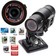 1080P Waterproof Full HD Sports Camera DV Mini Bike Helmet Action DVR Video Cam in Cameras & Photography, Camcorders | eBay
