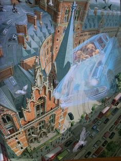From 'Harry Potter and the Chamber of Secrets', special edition illustrated by Jim Kay. Marvellous!