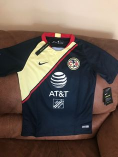 b4137c7e1be Details about Nike Club America 2018 Mexico Soccer Jersey NWT Size L Youth