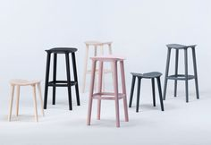 OSSO STOOLS - HERMAN MILLER - http://www.hermanmiller.com/products/seating/stools/osso-stools.html