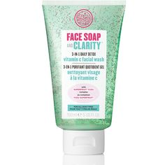 Smells so good face wash with little bead things