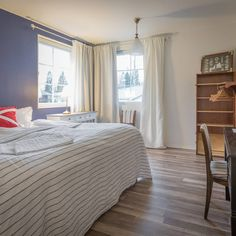 Introducing the spacious Rockabacken, a double room with en-suite bathroom and crispy fresh interior. Breakfast Set, Double Room, Your Perfect, Villa, Relax, Rooms, Fresh, Bathroom, Interior