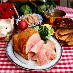 This Swedish Ham recipe is a traditional recipe to put on the table during Christmas. It's often served cold on the Christmas buffet, but serving it warm is certainly acceptable.