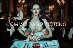 """""""Commit to Something"""" is the latest campaign by """"Wieden+Kennedy New York"""":http://www.wk.com/office/newyork for luxury fitness brand """"Equinox"""":http://www.equinox.com/. Shot by fashion photographer Steven Klein, the seven images display """"the powerful, conscious human expression of commitment."""""""