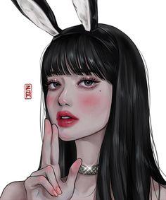 Anime Lips, Anime Neko, Cool Anime Girl, Anime Art Girl, Cute Wallpaper Backgrounds, Cute Cartoon Wallpapers, Beautiful Drawings, Cute Drawings, Cute Anime Character