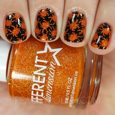 nails.quenalbertini: UberChic Beauty Halloween-02 Stamping Plate | Peachy Polish