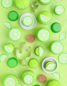Fondant Lime Cupcake