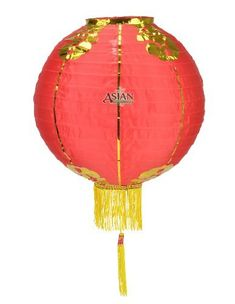 "10"" Traditional Nylon Chinese Lantern w/Tassel by Asian Import Store, Inc.. $3.80. Like a full moon, these nylon lanterns can change the atmosphere of any room.. These nylon lanterns are the traditional Chinese lanterns used in many festivals during Chinese New Year, or for any typical celebration.. Lanterns are Red with gold trim and a yellow tassel.. Nylon lanterns can be used for festivals, parties, or decorations in the house or office.. Dimensions: 10""D / Material: Red Nyl..."