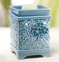 Scentsy – Forget-Me-Not Warmer | Fisher Center for Alzheimer's Research Foundation