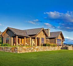 Mountain Stock Farm Residence by Locati Architects