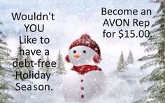 I know, it's too early to think about the holidays.  It's still summer. But wouldn't it be nice to have some extra $$ for Xmas? Sign up now, and your business will be ready for the holiday shopping season. Find out more at: lindasbeautyforyou.com #sellavon #workfromhome #workpartime #workfulltime