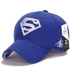 2015 cool amazing color casual gorras super-man superman hero 3D logo baseball sport caps hats for men women unisex adjustable