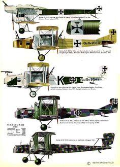 1914 - 1918 The Great War Gotha GI-GV