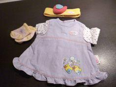 Baby Born Kleidung 3-tlg Zapf Creation Kleid Socken Stirnband | Spielzeug, Puppen & Zubehör, Babypuppen & Zubehör | eBay!