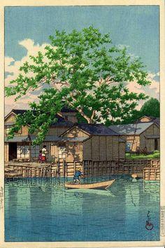 イメージ4 - 「手賀沼」制作80周年記念 『川瀬巴水木版画展』 (その1)の画像 - 迷い鳥のブログ - Yahoo!ブログ