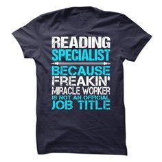 Awesome Shirt For Reading Specialist, Order HERE ==> https://www.sunfrog.com/LifeStyle/Awesome-Shirt-For-Reading-Specialist-90003235-Guys.html?41088