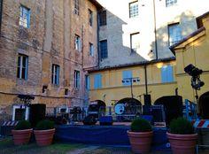 25 Giugno: nel cortile della  Biblioteca Civica Di Parma la rassegna di itinerari sonori Controtempi