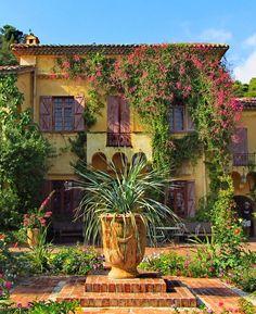Jardin botanique du Val Rahmeh, Menton, Provence-Alpes-Côte d'Azur