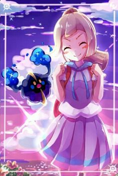 Lillie and Nebby♥