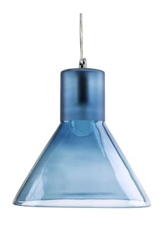 The sleek and elegant Funnel Pendant Lamp in Light Blue Glass by Mineheart is sure to raise the style stakes in your home! Industrial and bold in form, delicate and jewel-like in execution. Brass Ceiling Light, Industrial Ceiling Lights, Ceiling Rose, Lamp Light, Blue Pendant Light, Light Blue, Pendant Lamp, Pendant Lighting, Tinted Mirror