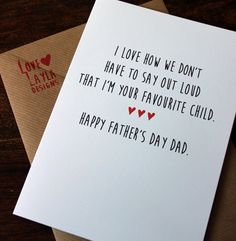 Birthday card / Father's Day / comedy / a5 / by LoveLaylaDesign