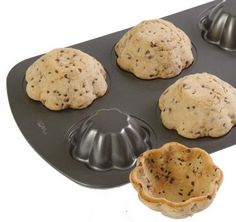 bake cookies into bowls and serve ice cream in them!