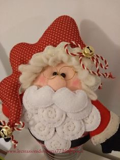 Babbo Natale Feltro 2018