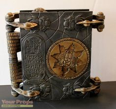 The Mummy Hamunaptra Book of the Dead replica movie prop
