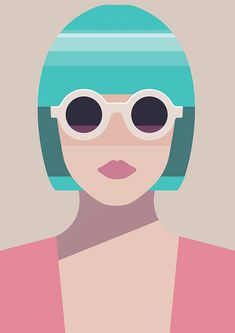 Pastel woman on behance design illustration in 2019 illustra Portrait Illustration, Pattern Illustration, Illustration Sketches, Graphic Design Illustration, Digital Illustration, Graphic Art, Watercolor Illustration, Frida Art, Grafik Design