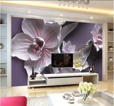 Home Improvement Orderly Beibehang Wall Paper Home Decor 3d Luxury White Flowers Soft Ball Jewelry Tv Background Wall 3d Wallpaper Mural Papel De Parede Wallpapers