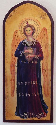 Renaissance Angel in the style of Fra Angelico