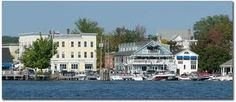 Wolfeboro, NH. Our favorite place for ice cream and shopping=)