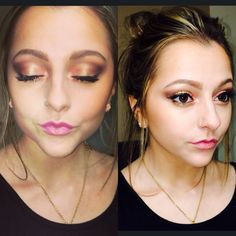 Summer makeup #naked3 #colorful