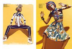 ASIAN MODELS BLOG: EDITORIAL: Kiki Kang in Madame Figaro China, April 2012