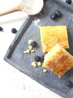 Fluffiger Zitronenkuchen mit Zuckerguss | REZEPT | mimiloves