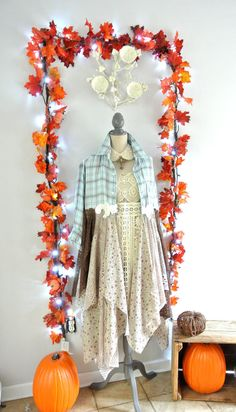 Gypsy vagabond coat bohemian duster boho fall by TrueRebelClothing, $122.22 - I bet I could figure it out.
