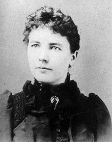 Laura Ingalls Wilder, author of the 'Little House on the Prairie' book series