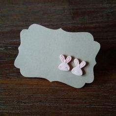 Hey, I found this really awesome Etsy listing at https://www.etsy.com/listing/183861561/pink-bunny-earrings-for-easter-happy
