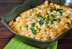 Definitely need to try this! Chicken Tamale Casserole
