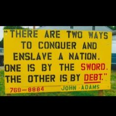 John Adams - still speaking the truth over 200 years later. Like and Repin if you agree!!!!