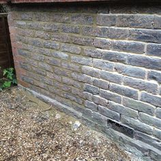 Simple repointing. See the difference.
