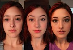 Student Documents Reactions to Her Varying Amounts of Makeup