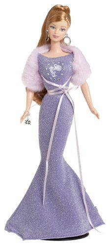 AmazonSmile: Barbie Collector Zodiac Dolls - Aquarius (January 21 - February 19): Toys & Games