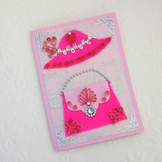 Paper Quilling Greeting Card Paper Quilled by EnchantedQuilling, $7.95
