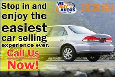 Stop in and enjoy the easiest car selling experience ever. Call Us Now! (410) 461-2277 (Ellicott City) (410) 461-2255 (White Marsh)