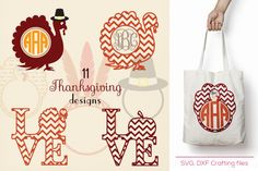 Thanksgiving svg projects, Turkey svg,fall svg, cricut projects, cutting file, Cricut Design Space, Silhouette Studio,Digital Cut Files By Cutesy Pixel